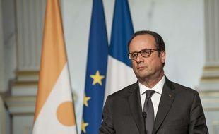 François Hollande, le 31 mars 2017 à l'Elysée.