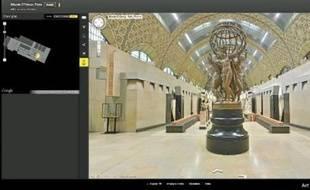 Une visite virtuelle du musée d'Orsay, qui a rejoint le Google Art Project.