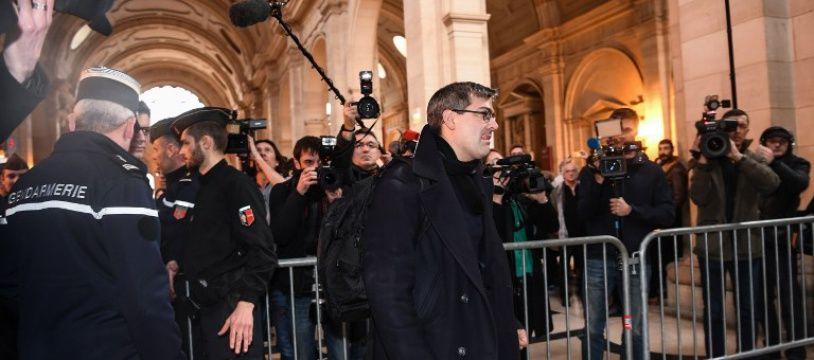 Julien Coupat à son procès le 13 mars 2018.
