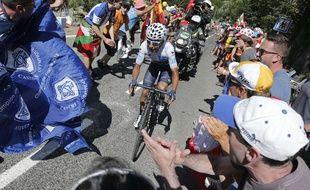 Nairo Quintana lors de la 10e étape du Tour de France, le 14 juillet 2015.