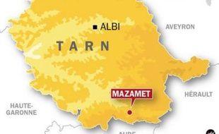 Les faits se sont déroulés la semaine dernière dans la ville de Mazamet, dans le sud du Tarn.