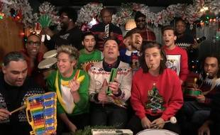 One Direction, The Roots et Jimmy Fallon.