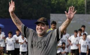 Maradona file au Belarus.