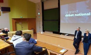 Grand débat à Strasbourg