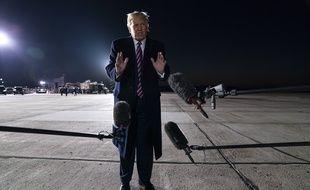 Donald Trump, photographié le 19 septembre 2020, dans le Minnesota.