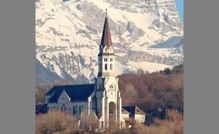 Le sommet de la Tournette (Haute-Savoie).