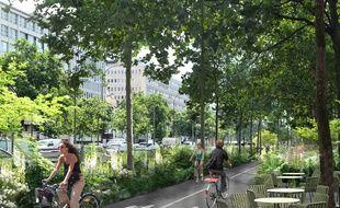 Une piste de vélo va notamment être installée
