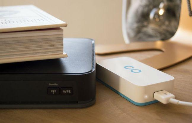 Le petit boîtier Lima transforme n'importe quel disque dur USB en service cloud personne.