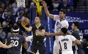 Steph Curry face aux Nets