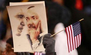 Mais ce lundi était surtout le «Martin Luther King day». Hasard du calendrier, la commémoration de l'anniversaire du célèbre pasteur noir américain tombait cette année la veille de l'investiture du premier président afro-américain des Etats-Unis.