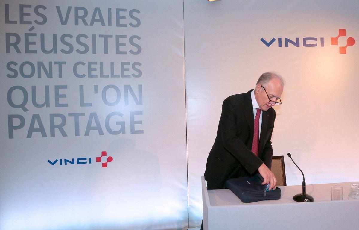 Xavier Huillard, PDG du groupe VInci./ J. Demarthon/AFP – AFP