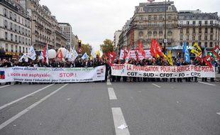 Manifestation de l'Education le 24 novembre 2009 à Paris.