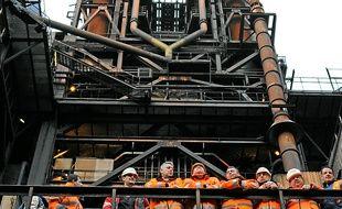L'industrie (ci-dessus: ArcelorMittal) devrait continuer à détruire des emplois.
