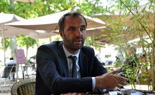 Michaël Delafosse (PS) est candidat à la mairie de Montpellier.