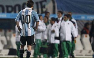 Lionel Messi face à la Bolivie, le 1 juillet 2011