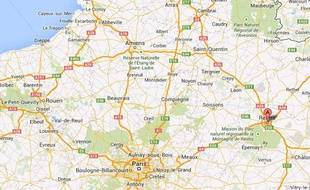 Google Maps de Reims