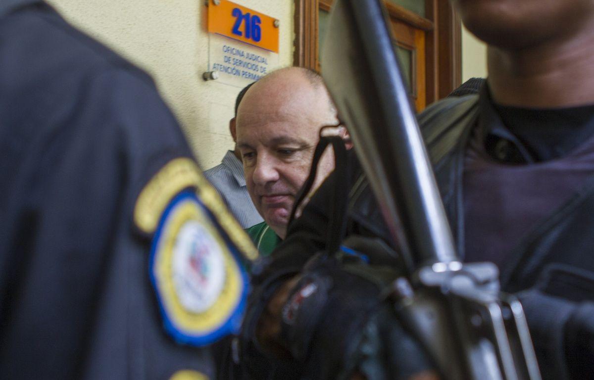 Emprisonné en République dominicaine depuis mars 2016, Christophe Naudin a signé un accord pour obtenir son transfert en France. – ERIKA SANTELICES / afp