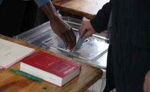 Illustration d'un vote pour les élections régionales de décembre 2015.