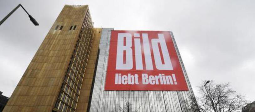 Siège du quotidien allemand Bild à Berlin le 15 avril 2008