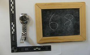 Une montre retrouvée par les gendarmes.