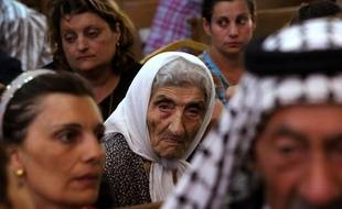 Les chrétiens d'Irak fuient vers le nord du pays.