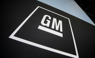 Le logo de General Motors, le 8 avril 2009