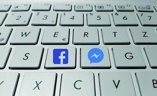 Facebook Messenger (illustration).