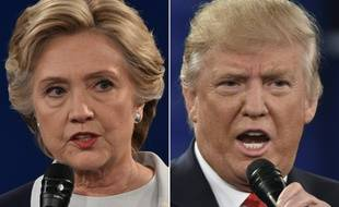 Hillary Clinton et Donald Trump.