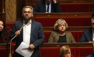 Alexis Corbière à l'Assemblée nationale, le 17 octobre 2018.