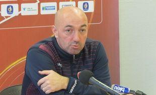 David Le Frapper,  l entraîneur du VAFC
