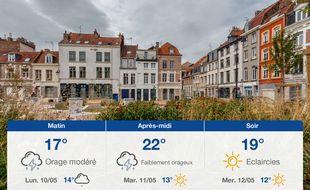 Météo Lille: Prévisions du dimanche 9 mai 2021