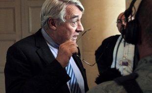 Claude Goasguen, le 28 septembre 2010, à l'Assemblée nationale.