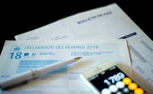 Image d'illustration d'une déclaration d'impôts.