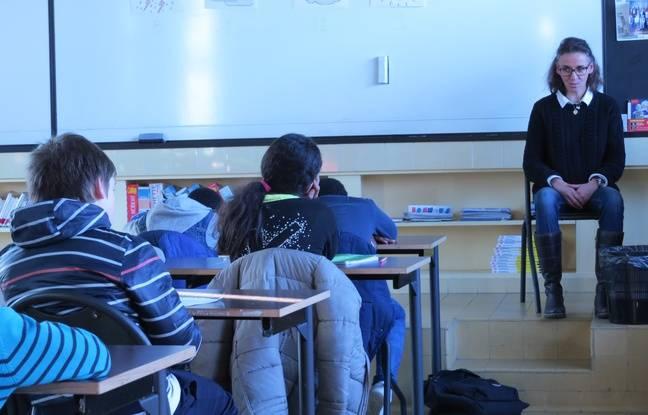 Reportage dans la classe