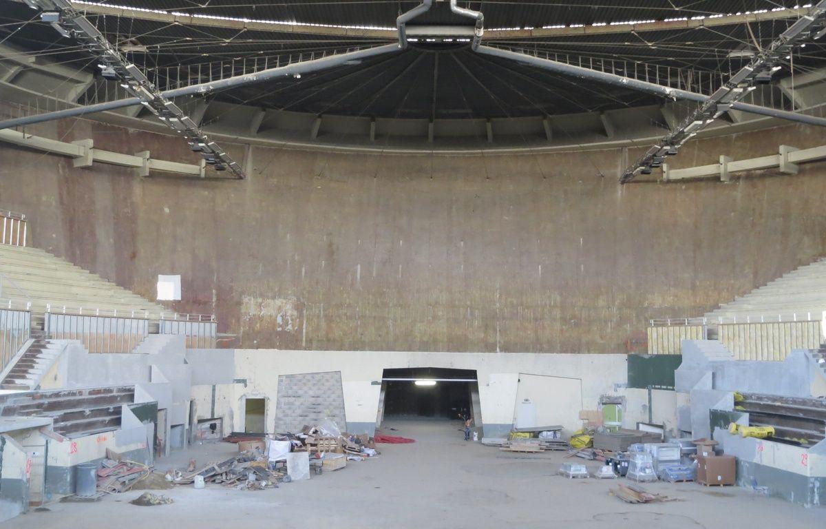 Le Palais des Sports de Bordeaux, en pleine rénovation, le 10 mars 2015. – M. Nouaux / 20 Minutes