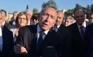 Gérard Collomb le 28 septembre 2018 à Bourgoin-Jallieu.