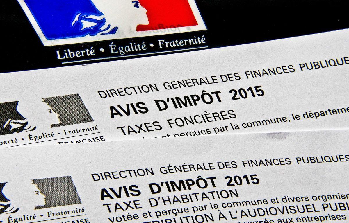 Illustration d'avis des impôts. – GILE MICHEL/SIPA