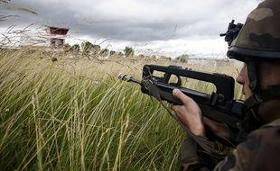 Illustration d'un exercice militaire en France.
