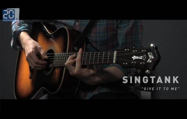 Singtank en live dans le studio de «20 Minutes»