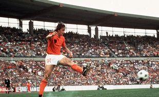 Johan Cruyff, lors du Mondial 74.