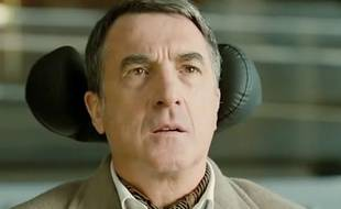 """François Cluzet dans """"Intouchables""""  réalisé par Olivier Nakache et Éric Toledano"""