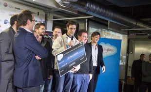 Olivier Hamon a remporté en 2013 la première édition du concours du meilleur développeur de France organisé à l'École 42