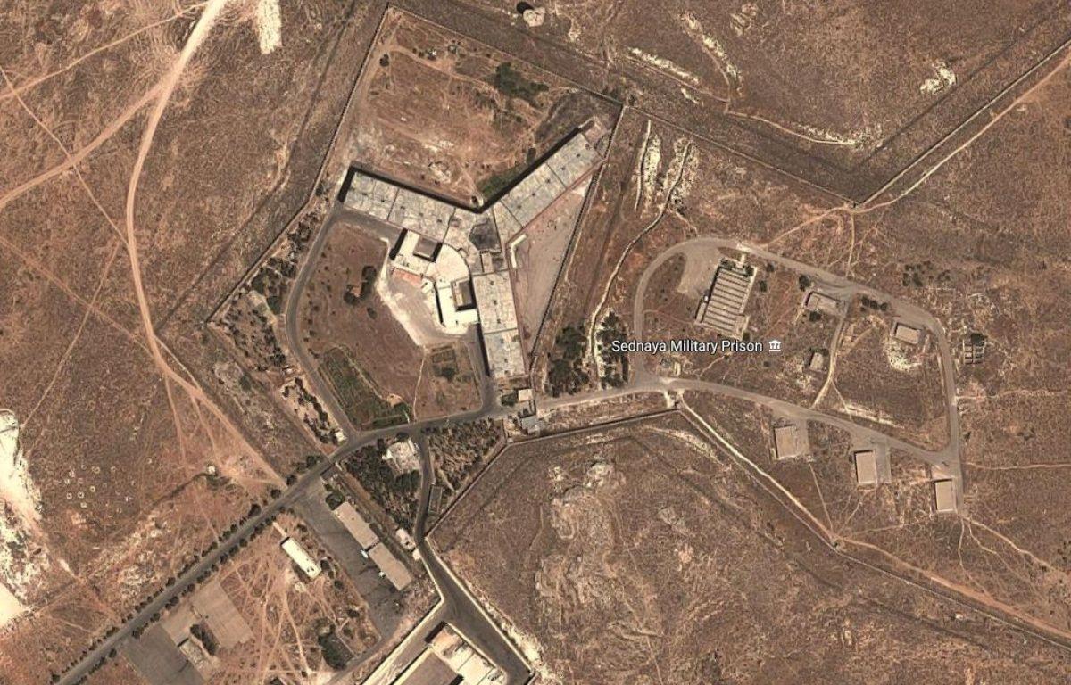 La prison de Saydnaya, près de Damas. – Google Maps