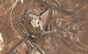 La prison de Saydnaya, près de Damas.