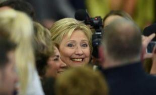 Hillary Clinton le 9 février 2016 à Hooksett dans le New Hampshire