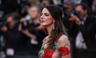 L'actrice Frédérique Bel au Festival de Cannes le 17 mai 2016