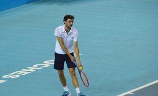 Gilles Simon à l'Open 13 de Marseille, le 18 février 2015.