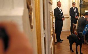 Emmanuel Macron a adopté ce week-end un labrador croisé de griffon, baptisé Nemo.