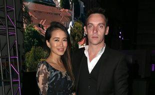 Les jeunes parents Mara Lane et Jonathan Rhys Meyers à Hollywood