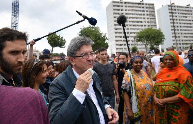 VIDEO. Agacé par une question, Jean-Luc Mélenchon imite l'accent d'une journaliste